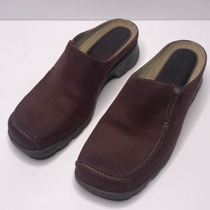 Timerberland Smart Comfort Slip On Leather Mules